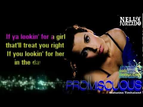 Nelly Furtado - Promiscuous KARAOKE