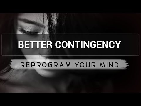 Better Contingency affirmations mp3 music audio - Law of attraction - Hypnosis - Subliminal