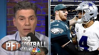 Download The impact of Carson Wentz's new contract on other quarterbacks | Pro Football Talk | NBC Sports Mp3 and Videos