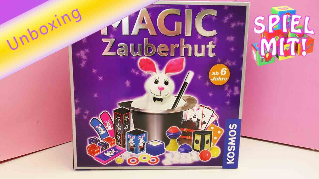 zauberkasten kosmos magic zauberhut magischer hut unboxing youtube. Black Bedroom Furniture Sets. Home Design Ideas