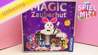 Zauberkasten Kosmos - Magic Zauberhut Magischer Hut - Unboxing