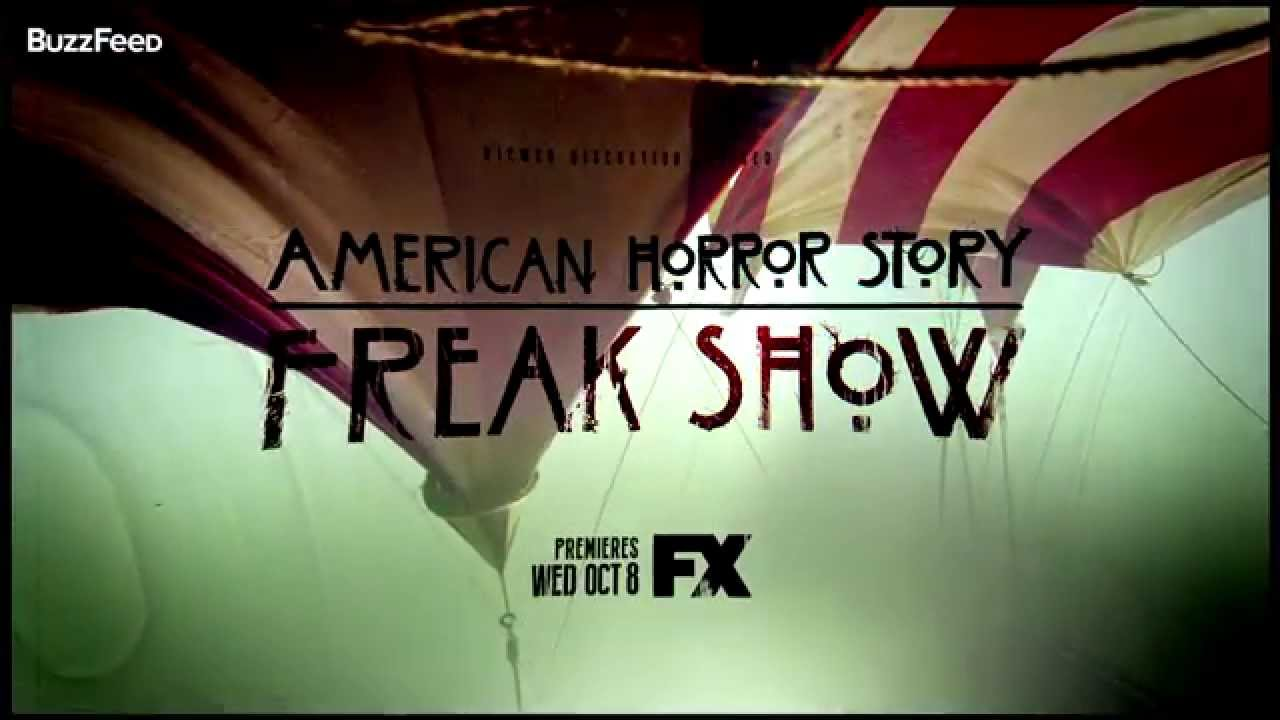 American Horror Story Freak Show Trailer Oficial Fx Youtube