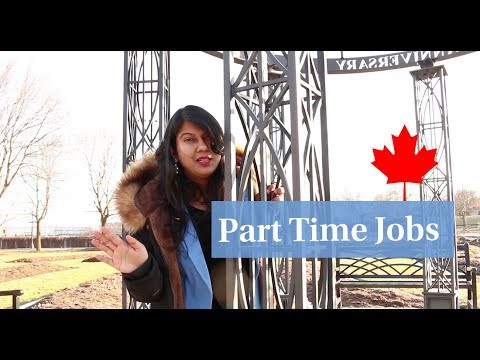 Part Time Jobs in Canada | Indian Student Abroad