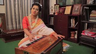 বাজে মঞ্জুল মঞ্জীর রিনিকি- সম্পা দাস - Baje Monjulo Monjiro (Nazrul Sangeet)- Sampa Das
