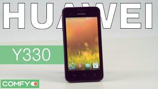 Huawei Y330 - dual SIM смартфон начального уровня - Видеодемонстрация от Comfy.ua