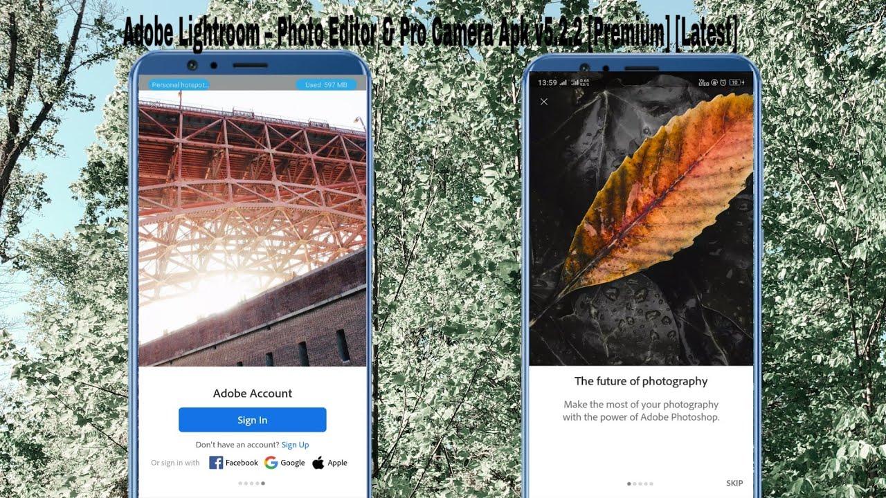 Adobe Lightroom - Photo Editor & Pro Camera Apk v5.2.2 ...