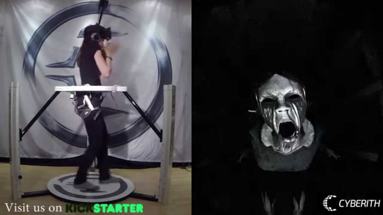 c71179d23bac Virtual Reality Horror Game Affected with the Cyberith Virtualizer and the  Oculus Rift - YouTube