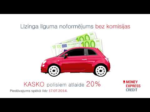 Commercial ADS Money Express Credit 2.0 Latvian