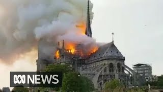 Baixar Notre Dame cathedral in Paris engulfed by fire | ABC News