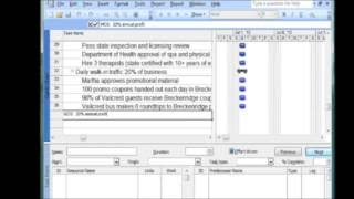 how to build a wbs in ms project software