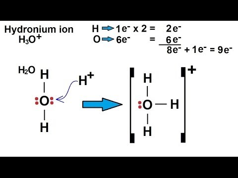 How To Make An Electron Dot Diagram 2007 Jeep Grand Cherokee Wiring Chemistry - Chemical Bonding (22 Of 35) Lewis Structures For Ions Hydronium Ion H3o(+) Youtube