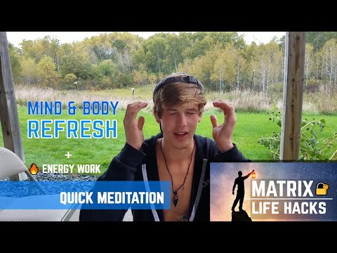 INCREASE ENERGY & FOCUS INSTANTLY!! Mind & Body Reboot - MASTER MEDITATION TECHNIQUE! (LIF...