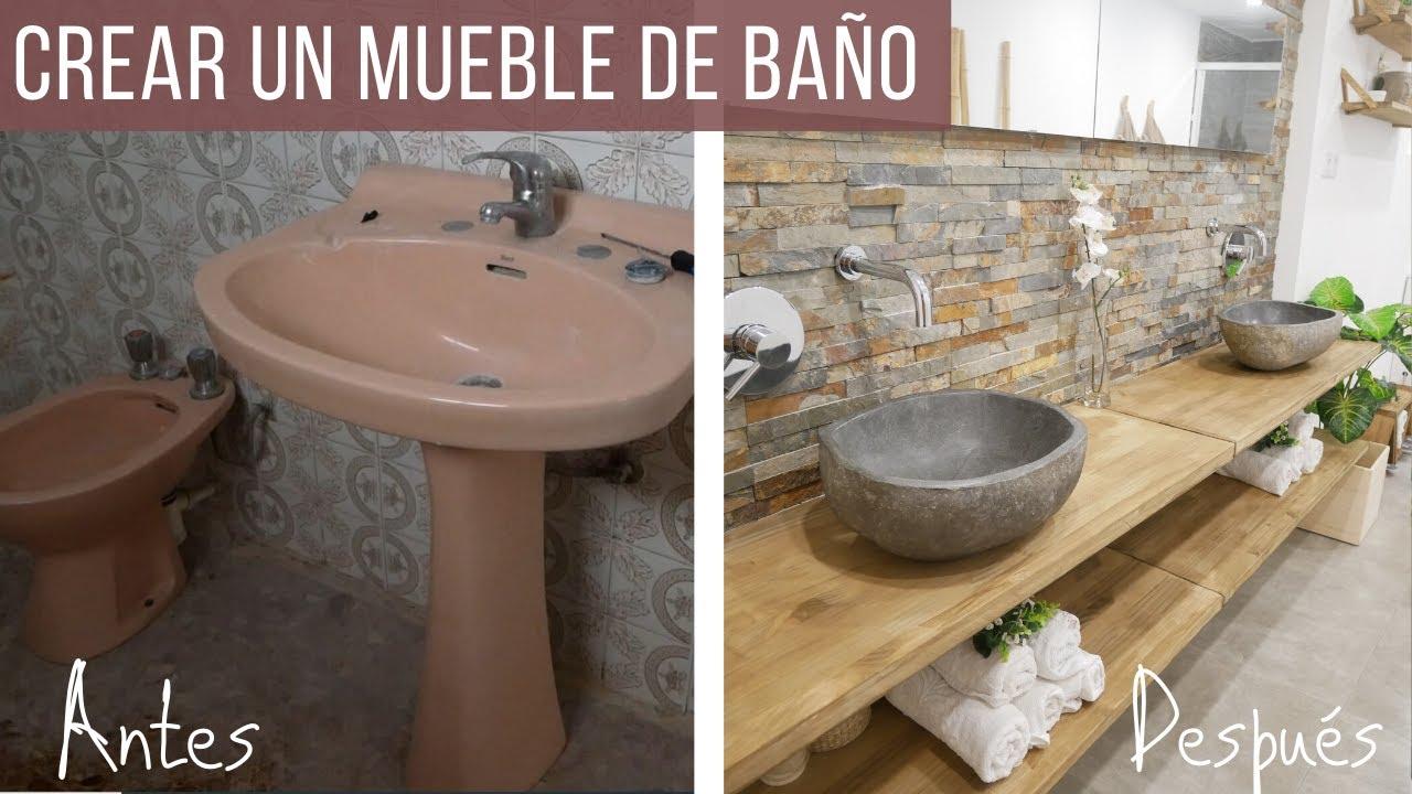 Colocacion Lavabo.Mueble De Bano Con Piedra Natural Y Madera Colocacion Del Sifon
