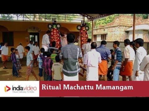 Parayeduppu during Machattu Mamangam