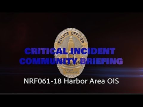 Critical Incident Video Release - NRF061-18 HARB OIS