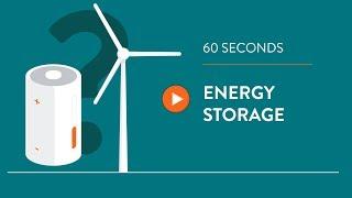 Wind turbine energy storage - IN 60 SECONDS