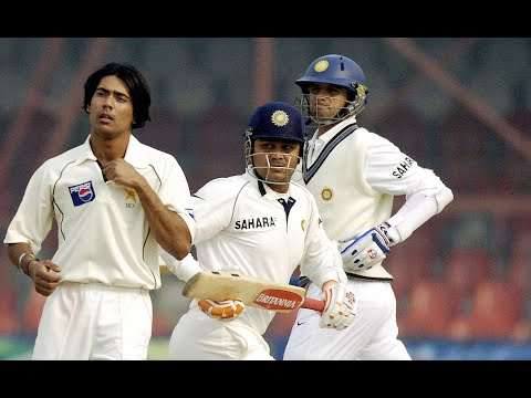 Mohammad Sami sledges Virender Sehwag & EPIC REPLY Next Ball + Vintage Ravi Shastri Commentary