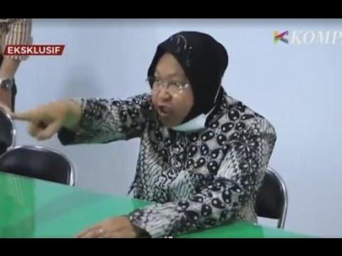 Video Tri Rismaharini Marah Besar dan Membentak Pegawai Disdukcapil Surabaya