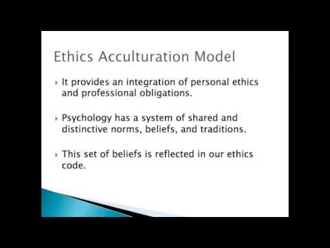 Ethics & Psychology: Ethical Decision-making (Part 1)