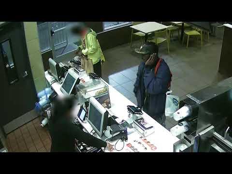 Robbery at McDonald's @ 2442 MLK Jr. Drive
