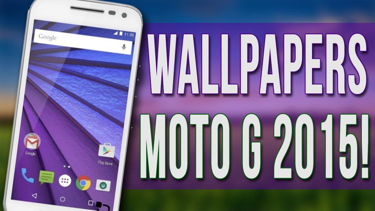 Moto G Wallpaper Images: Descarga Los Wallpapers Del Motorola Moto G 2015 3Gen