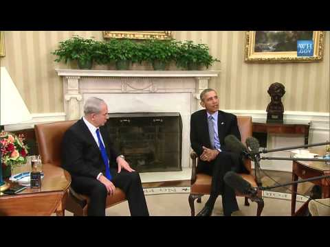 Netanyahu & Obama Talk At White House - Full Remarks