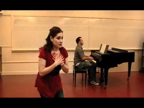 Singing with the Broadway Stars - San Jose Repertory Theatre: 02.15.12 -- Lauren Halliwell