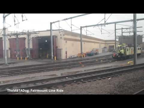 TheMBTADog: MBTA Fairmount Commuter Rail Line Ride