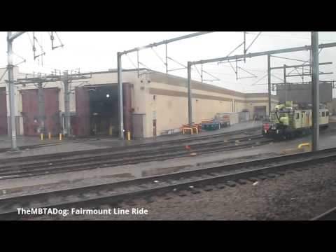 TheMBTADog: MBTA Fairmount Commuter Rail Line Ride