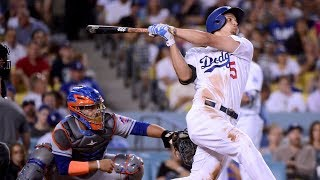 Corey Seager Bombs 3 Homers Against the Mets