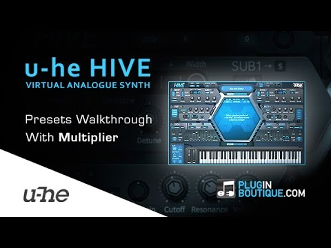 u-he Hive Virtual Analogue Synth - Presets Walkthrough