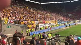 Dynamo Dresden Support in Kaiserslautern 2018