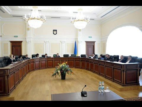 Засідання Вищої ради правосуддя 31.01.2017