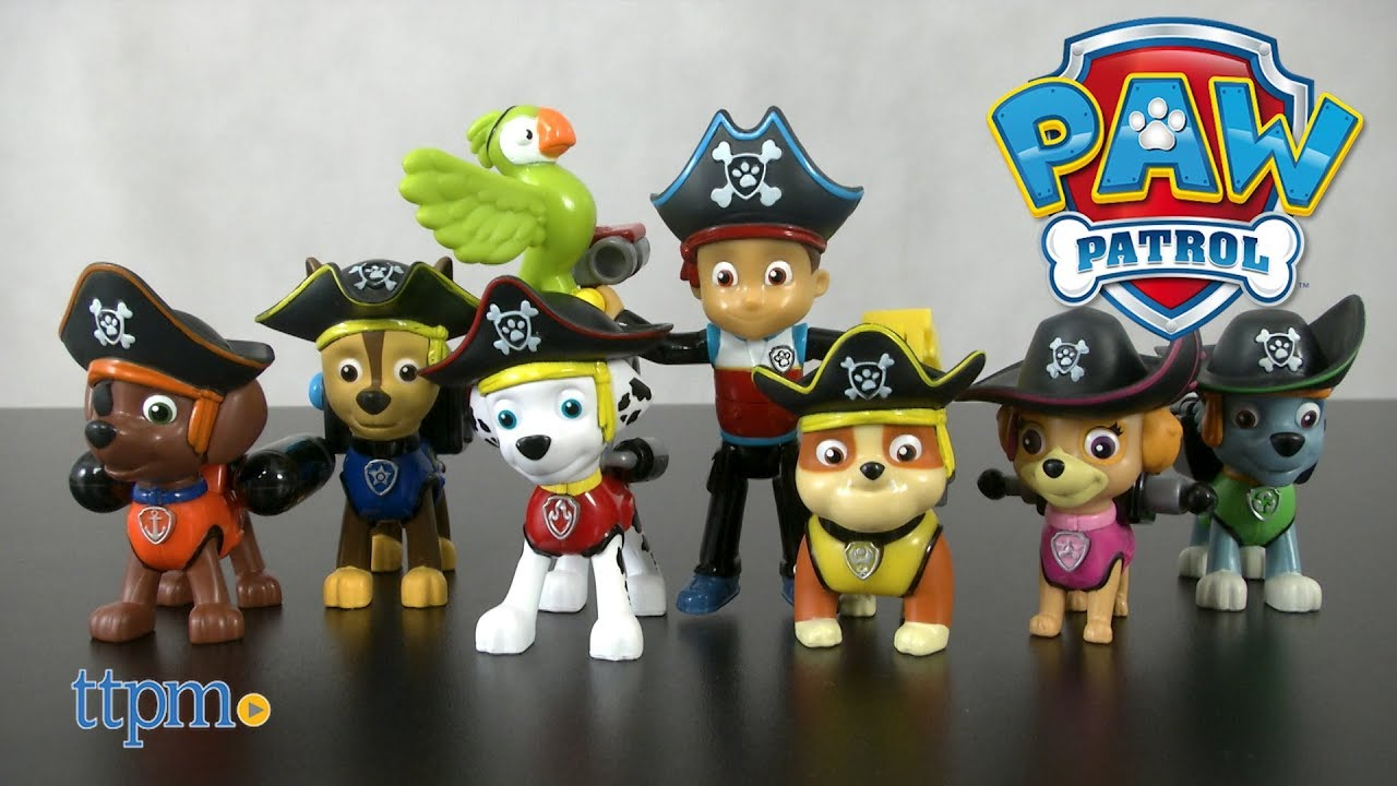 Paw Patrol Pirate Pups Action Pack Gift Set from Spin ...