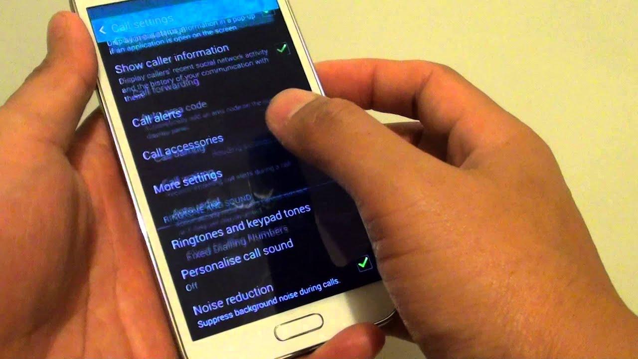 Samsung s5 neo background noise