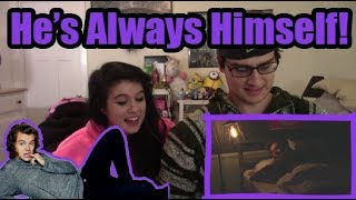 """""""harry styles being himself for 5 minutes straight 
