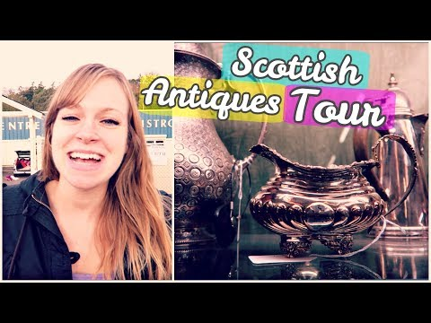 🌍 SCOTLAND ANTIQUE STORE TOUR! 😍 | Abernyte, Scotland Travel Vlog
