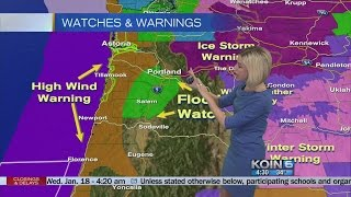 Wednesday Morning Weather Update January 18, 2017