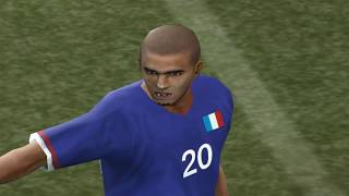 Pro Evolution Soccer 5 - 2005 - Portugal  VS  France (PC)