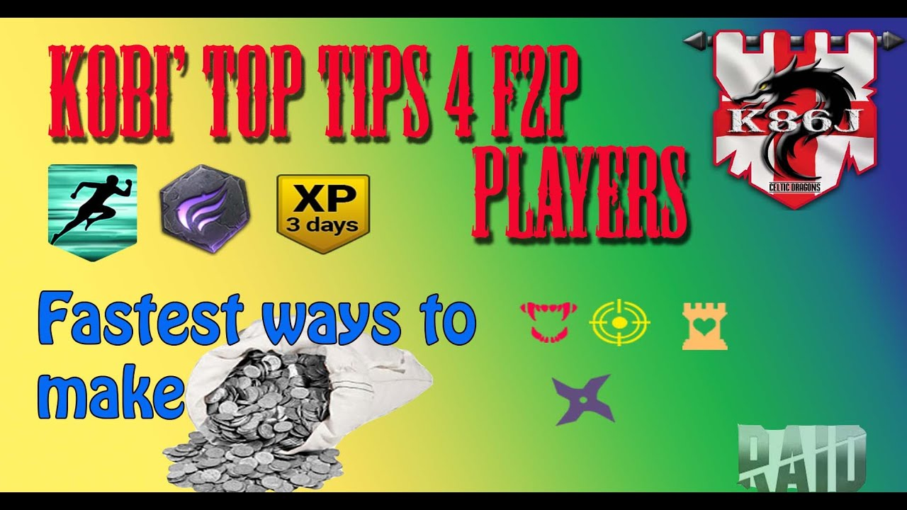 RAID: Shadow Legends Top Tips For Making Silver -Best Advice for F2P Players or New Players pt2
