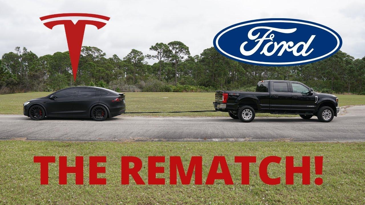 Elon Musk Accepts Tug Of War Challenge Between Tesla Cybertruck vs Ford F 150