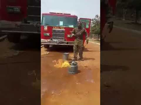 How to fight fire Gas