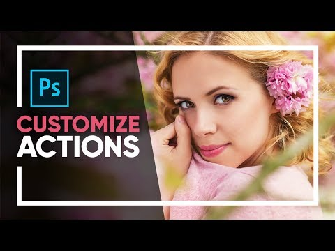 One Click To Make MUCH BETTER ACTIONS In Photoshop!