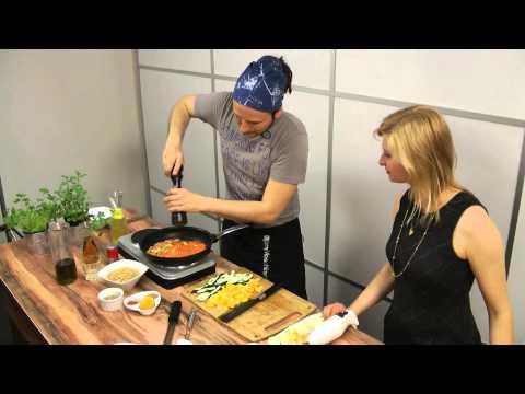 Linsenpfanne mit Hummus | Björn Moschinski | Vegan Taste Week