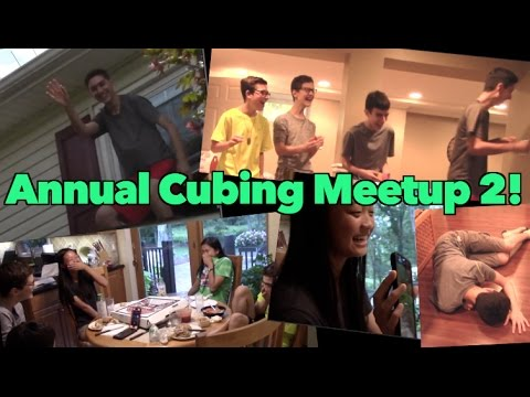 SECOND Annual Cubing Meetup with DGCubes, TheRubiksCubed, TPC, Hashtag Cuber, and NoobCube!