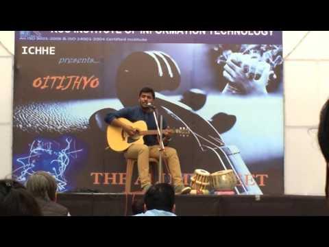 Awari - Ek Villain Guitar Cover - RCCIIT Oitijhyo 1st RunnerUp - Rahul Pandey.