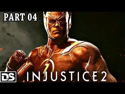 Injustice 2 Gameplay German Flash vs Reverse Flash & Deadshot - Let's Play Injustice 2 Deutsch #4