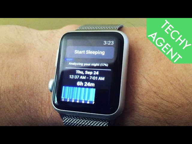 Sleep Tracking on the Apple Watch
