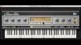 Bow chika wow retro 70s fun with Elektrik Piano