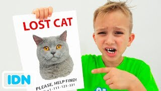Vlad dan Nikita Kehilangan kucing kami